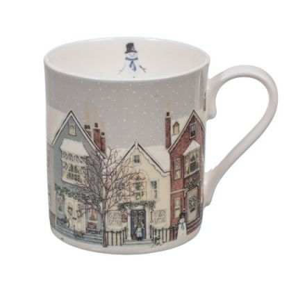 Snowy Street Mug