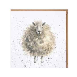 'The Woolly Jumper' sheep card
