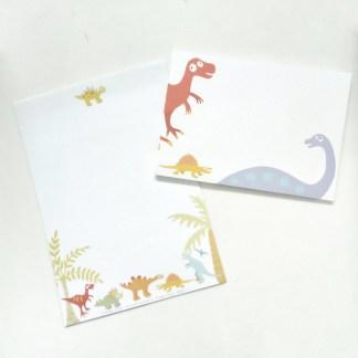 Dinosaur Writing Set