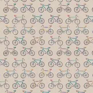 Bikes gift wrap