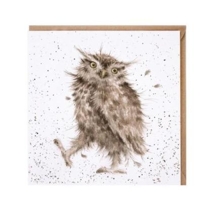 Little Hoot Owl card