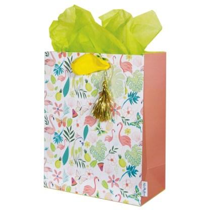 Flamingo medium gift bag Kate Phythian