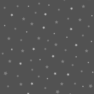 twinkle stars starry night grey gift wrap