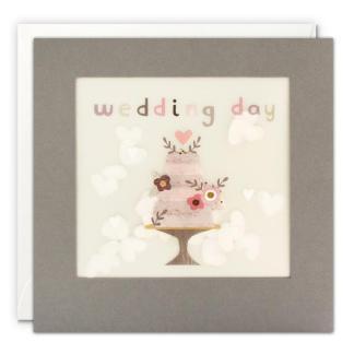 Wedding day shakies card