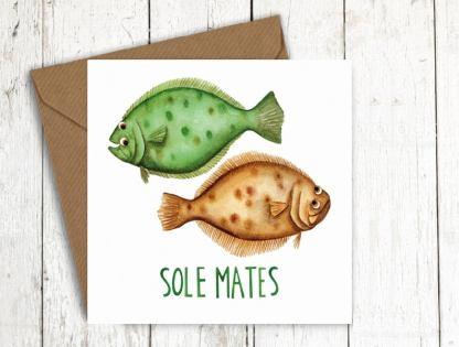 Solemates fish card