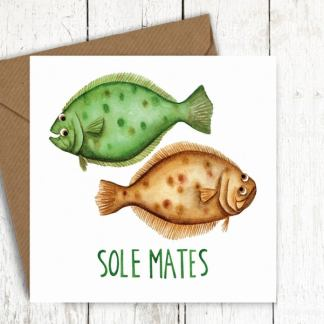 Solemates fish card