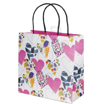 Hearts gift bag by Stop the Clock Design