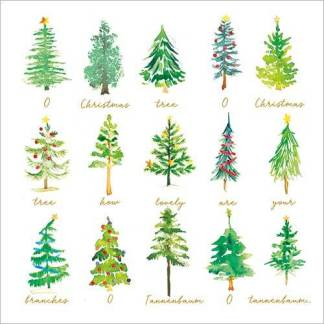O Christmas Tree Christmas Cards