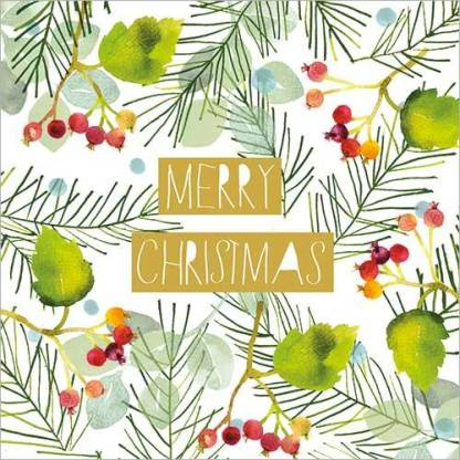 Christmas Foliage Christmas Cards