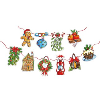 Christmas Decorations Bunting