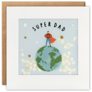 Superhero Super Dad Card