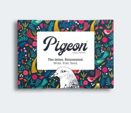Magical Menagerie pigeon folded letters