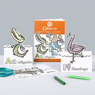 Colour in Animals Cards