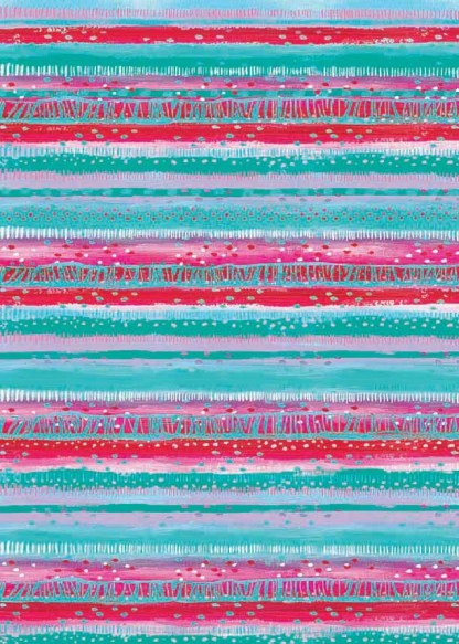 stripe clash gift wrap