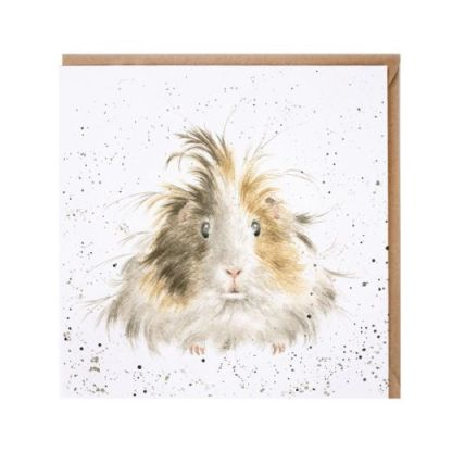 Style Queen Guinea Pig card