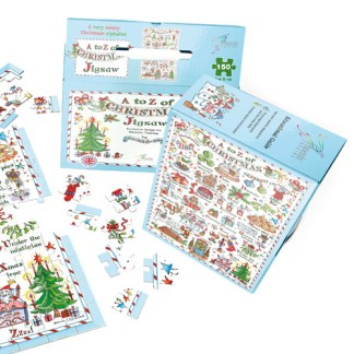A to Z of Christmas Jigsaw Puzzle