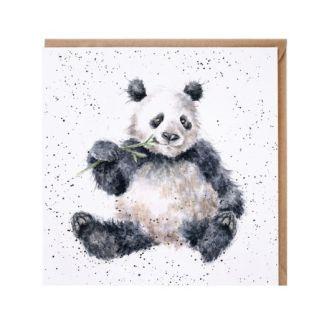 Bamboozled panda card