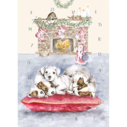 All I Want for Christmas Advent Calendar Card