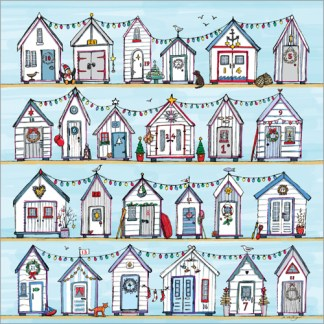 Beach Huts Advent Calendar