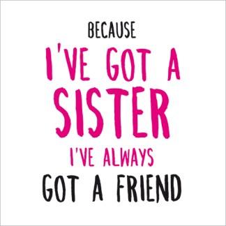 Birthday Sister Card