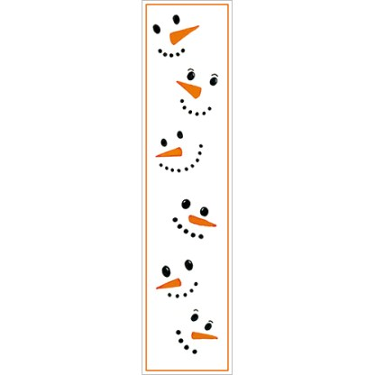 Frosty Snowman Bookmark