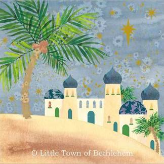 O Little Town of Bethlehem Christmas Cards