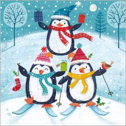Penguin Fun Christmas Cards