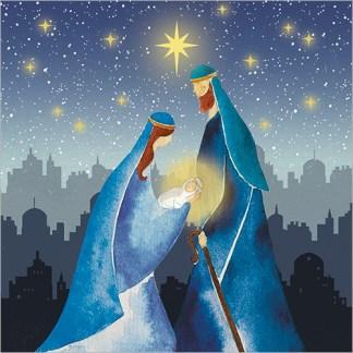 Mary and Joseph Christmas Cards