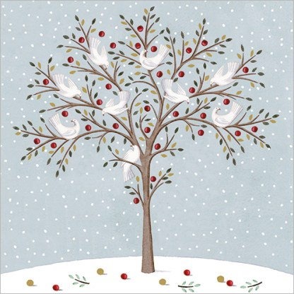 Tree of Doves Christmas Cards