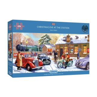 High quality 636 piece jigsaw puzzle. Puzzle size 68.5x32cm when complete. Box size: 31.5x20.5x5cm Made from thick, durable puzzle board that is 100% recycled. Made and designed in the UK.
