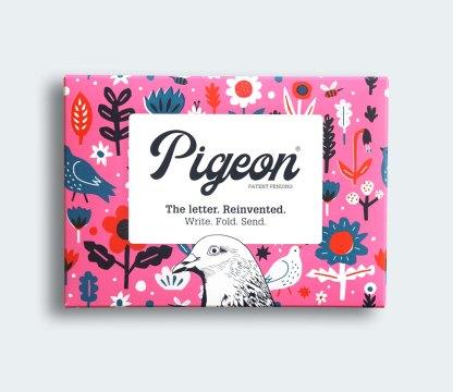 Fiesta pigeon folded letters
