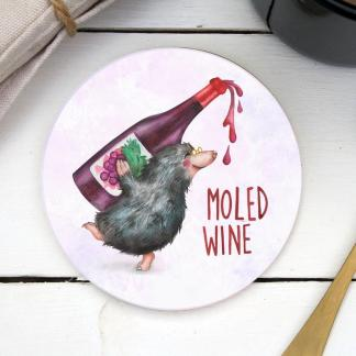 Moled Wine coaster