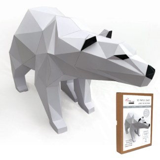 Polar Bear papercraft kit