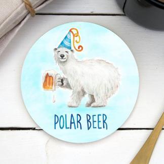 Polar Beer coaster