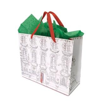 Festive Home Carrier Gift Bag