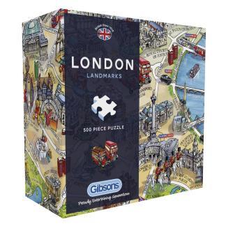 London Landmarks Jigsaw