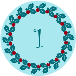 advent number stickers