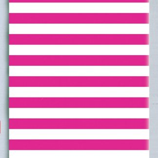 hot pink stripe tissue