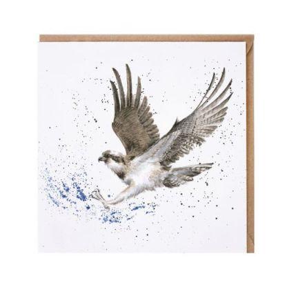 Gone Fishing osprey card