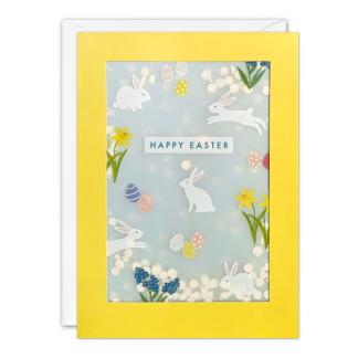 Easter Bunny Shakies Card