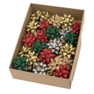 Kraft gift bows