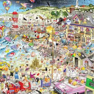 I Love Summer Jigsaw