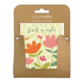 Just a Note Flowers notelets