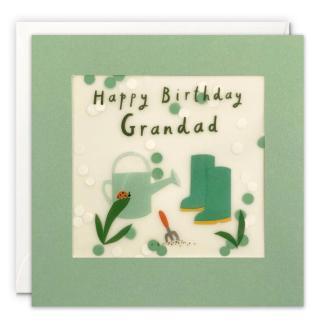 Grandad Birthday Shakies Card