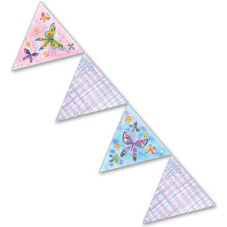 Butterfly Bunting Pennants