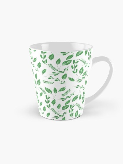 Simply Green Foliage Mug