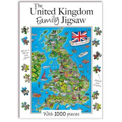 United Kingdom Family Jigsaw Puzzle