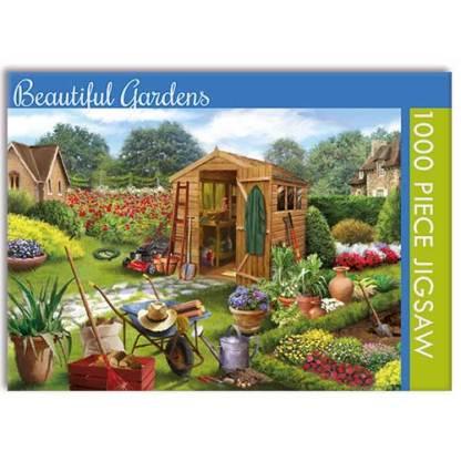 Beautiful Gardens Jigsaw Puzzle
