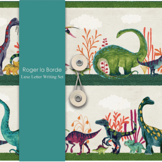 Dino Mighty Dinosaur Letter Writing Paper Set