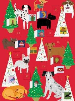Precious Pooches Dog Advent Calendar Card